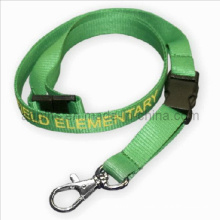 Printing Nylon Lanyards with Metal Hook & Safety Buckle