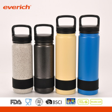 18oz Everich custom powder coat doublewall ss vacuum insulated stainless steel bottle