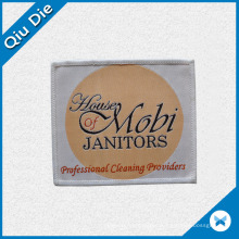Advertising Fabric Woven Label/Badge for Promotional Gifts