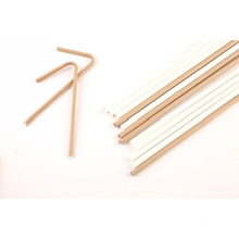 Compostable disposable drinking straw