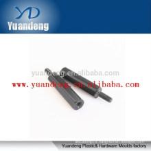 CNC turned and anodized aluminium