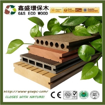 Fireproof Composite Wood Plastic Wpc Flooring