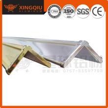 Types de profils d'extrusion en aluminium