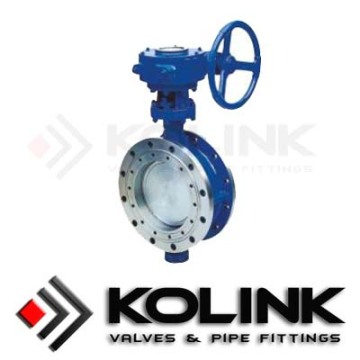 Cast Steel Flanged Butterfly Valve
