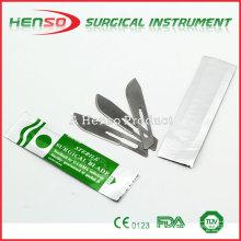 Lâmina cirúrgica de uso único HENSO