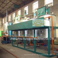 10t / D Sojaöl-Raffinerie Mini-Öl-Raffinerie zu verkaufen