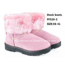 Neueste Injektionsstiefel MID-Calf Stiefel Bequeme Schneeschuhe Winterstiefel Stock Schuhe (FF328-2)