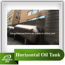 Tanque de óleo horizontal de Mc Tanque de aço inoxidável