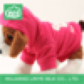 fleece dog hoodies / lovely dog clothes