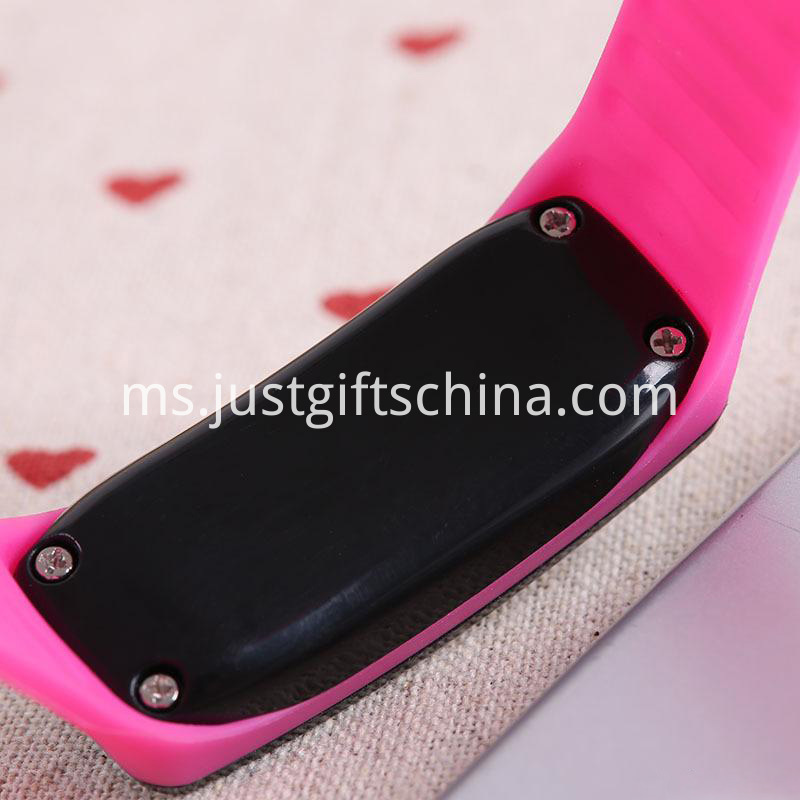 Promotional Silicone Led Waterproof Watch_2