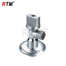 Válvula de ángulo de latón de la fábrica del fabricante
