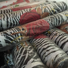 Stock Bedsheet Fabric of 100% Polyester Brushed Fabric