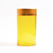 Frascos plásticos do cilindro 140ml para produtos de cuidados médicos (EF-J210140)