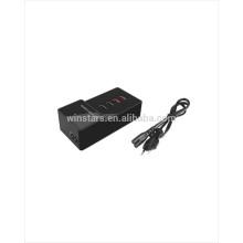 Carregador de porta USB 5 de 35watt, Estação de carregamento de mesa, suporte de carregador rápido para 2.4A, CE, FCC