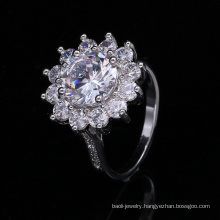 Top Grade Handmade Cz Ring, Good-Flexibility