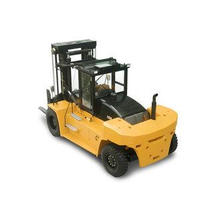 Four Wheel Diesel Fork Lift Truck Safety 16t Capacity 3000m