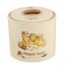 Cartoon Print Plastic Tissue Box (FF-5008-2)