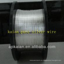 Venta caliente 2013 anping KAIAN 35gauge 99.99 alambre de plata puro