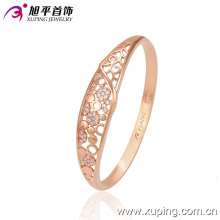 New Fashion Rose Gold Color Delicate Zircon Bangle