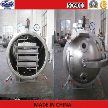 Fruit and Vegetable Round Vacuum Dryer with Steam