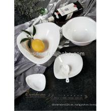 vajilla de platos de cerámica de arcilla