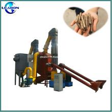 Ligne de production de pastilles de biomasse de sciure de bois approuvée CE