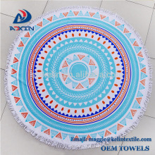 Custom 2 person beach towel extra large round beach towel stock