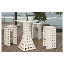 Luxury Durable Easy Cleaning table à manger chaise haute