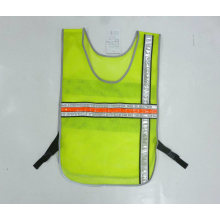 Safety Vest with Reflective Crystal Tape