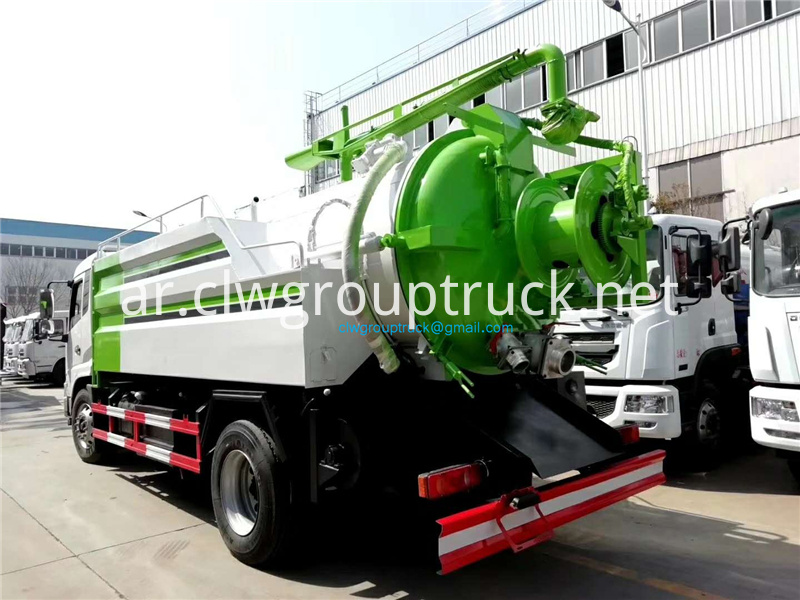 High Pressure Cleaning Suction Truck 3
