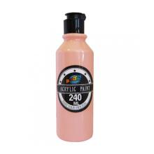Acrílico quente da garrafa da pintura acrílica do rosa da venda 240ML