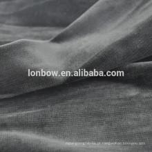 tecido de veludo de algodão orgânico para roupas árabes