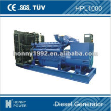 728kW Conjunto de generación diesel, HPL1000, 50Hz