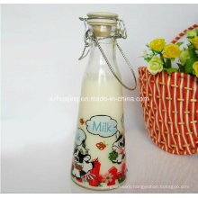 500ml 1liter Bulk Milk Bottle with Clip Lid