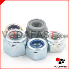 Нейлоновые соединительные гайки с цинковым покрытием HDG