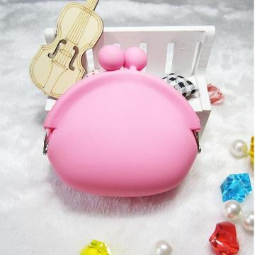 Cute Cartoon Silicone Purse for Coin Lipsticks Bag