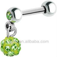 Crystal Dangle Cartilage Earring Stud Cheap Ball Ball Ring