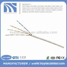 1000FT Cat5e UTP Solid White Netzwerk Ethernet Kabel Cat5 Bulk Wire RJ45 Lan Kabel Box