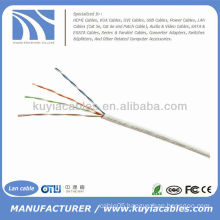 1000FT Cat5e UTP Solid White Network Ethernet Cable Cat5 Bulk Wire RJ45 Lan Cable Box