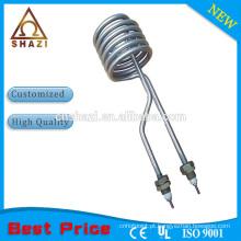 Elemento de aquecimento de bobina de tipo convencional