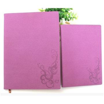 Деловой имитационный кожаный PU-блокнот, красная обложка для ноутбука