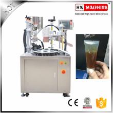 Halbautomatische Handcreme Füll- und Verschließmaschine Plastic Soft Tube Füll- und Verschließmaschine