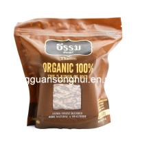 Organic Rice Packing Bag/Plastic Rice Bag with Zipper