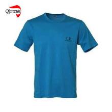 Kundenspezifisches Art- und Weisedruck-Baumwollt-shirt (ZJ-6801)