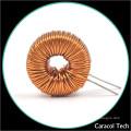 Inductance à anneau vertical personnalisée Filtrage en mode commun avec base
