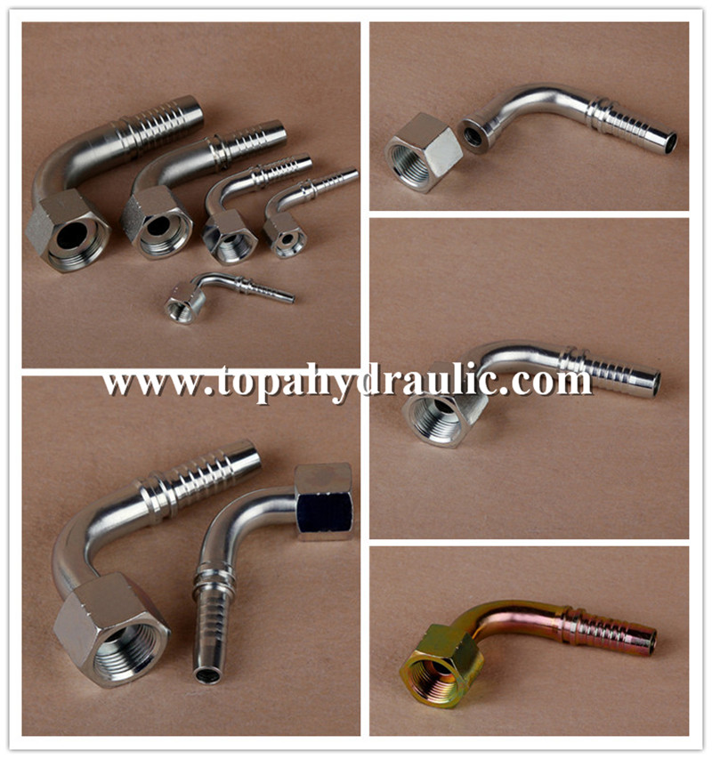 pilot operated threaded hydraulic fitting pipe