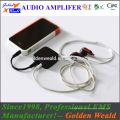 amplificador de batería recargable amplificador de auriculares amplificador portátil mini