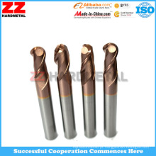 Zhuzhou Buraco Machining Carbide End Fresamento Cutter