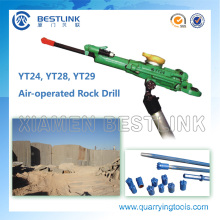 Air-Leg Yt28 Yt29 Wet Drilling Jack Hammer for Quarrying Rock