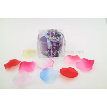 Лучшие ароматические соевые свечи роскошные круглые стеклянные банки свеча в ПВХ сумке свечи решений поставок